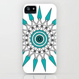 Gyro Mandala iPhone Case