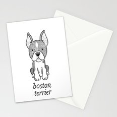 Dog Breeds: Boston Terrier Stationery Cards