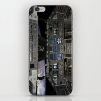 nasa iPhone & iPod Skins featuring Space Shuttle NASA by Planet Prints