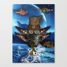 Steampunk Mechanics Canvas Print