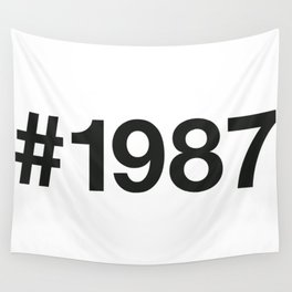 1987 Wall Tapestry