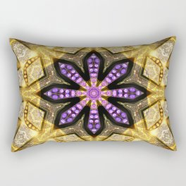 Purple Star Rustica Rectangular Pillow