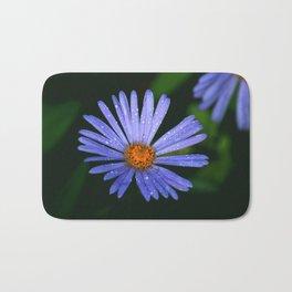 Blue Daisy Bath Mat