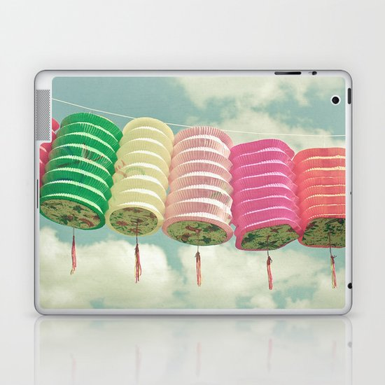 Chinese Lanterns Laptop & iPad Skin