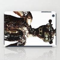 robot iPad Cases featuring robot by Кaterina Кalinich