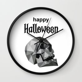 Happy Halloween Suite Wall Clock