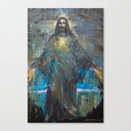 I AM THE LIGHT OF THE WORLD II Canvas Print