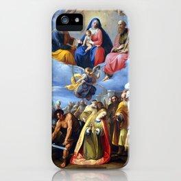 Giuseppe Cesari Martyrdom of Saint Margaret iPhone Case