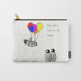 To be a Flying Penguin Carry-All Pouch