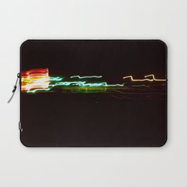 Night Lights Santa Monica Holiday Inn Laptop Sleeve