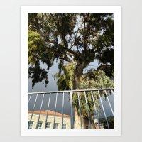 climbing Art Prints featuring Climbing  by aeolia