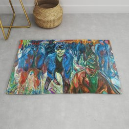 Workers on their Way Home - Digital Remastered Edition Rug