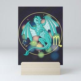Scorpio - Zodiac Dragons Mini Art Print