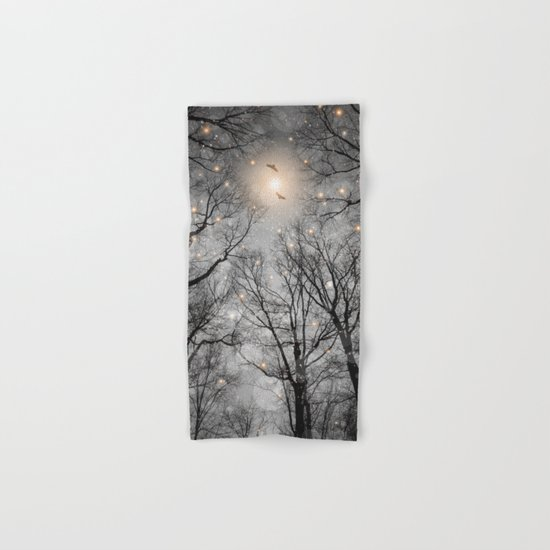 Nature Blazes Before Your Eyes 2 (Ash Embers) Hand & Bath Towel