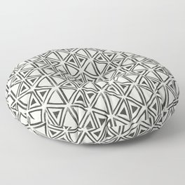Block Print Diamond Floor Pillow