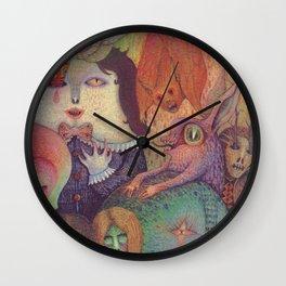 Secret Gathering Wall Clock