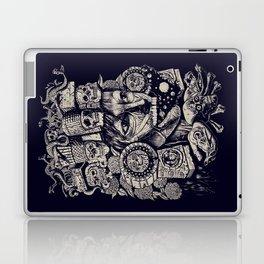 Mictecacihuatl 2 Laptop & iPad Skin