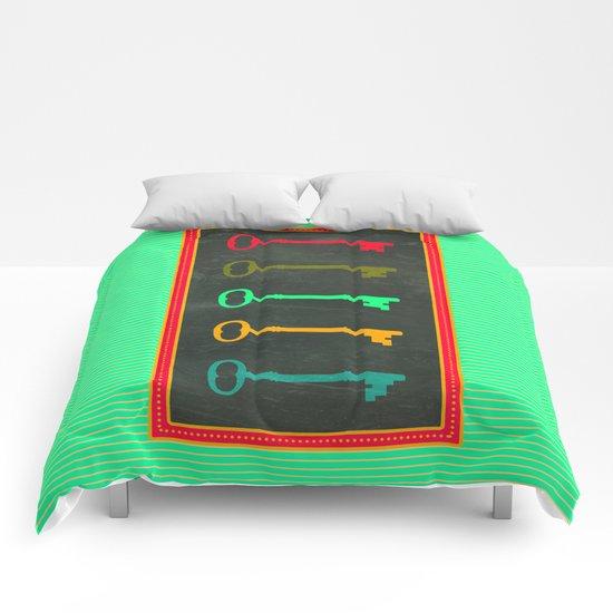Key choice Comforters