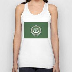Arab League flag Unisex Tank Top