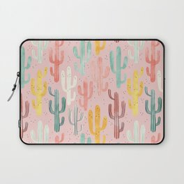 Long Multicolored Cacti Laptop Sleeve