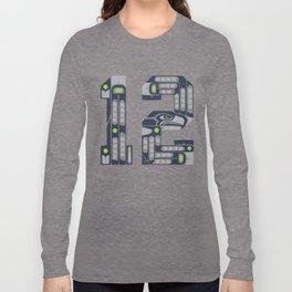 Seattle 12th Man Long Sleeve T-shirt