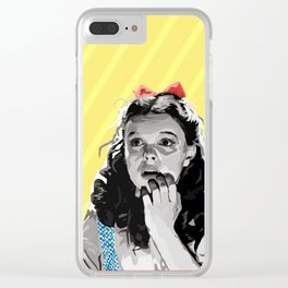 Follow! Clear iPhone Case