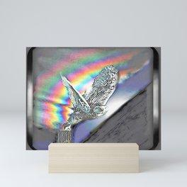 Bird Models: Snow Owl Resplendence 01-01 Mini Art Print