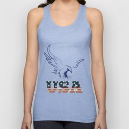 American Eagle holding usa Unisex Tank Top