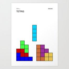 Poster Nintendo Tetris Art Print