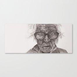 Heavy glasses Canvas Print