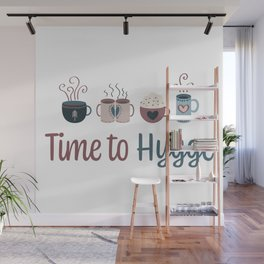 Time to hygge Wall Mural