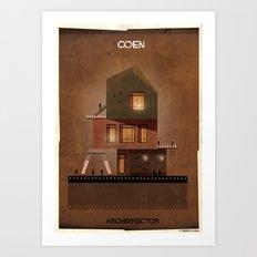 027_ARCHIDIRECTOR_Coen brothers Art Print