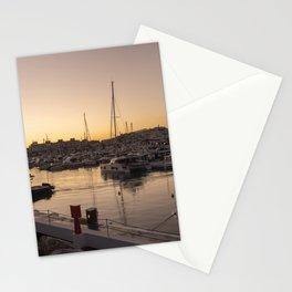 Puerto Banus twylight Stationery Cards