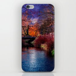 Concept Baden-Wuerttemberg : River Rottum through Laupheim iPhone Skin