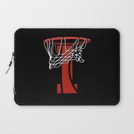 1 Year Basketball Birthday - Bball Laptop Sleeve