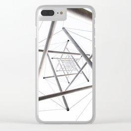 Infinite Geometry Clear iPhone Case