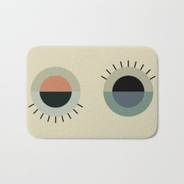 day eye night eye Bath Mat
