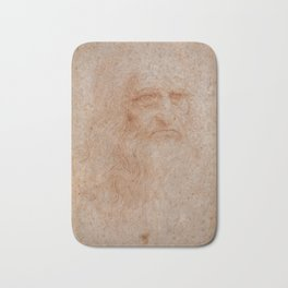 Leonardo da Vinci Bath Mat