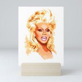 RuPaul - Supermodel - Pop Art Mini Art Print