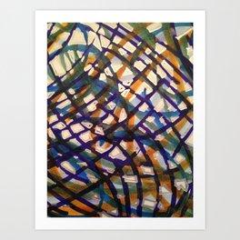 Diagrammatic Art Print