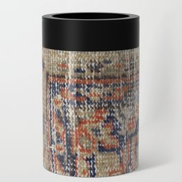 Vintage Woven Blue Can Cooler