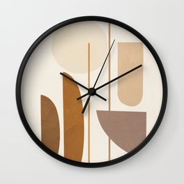 Abstract Minimal Art 07 Wall Clock