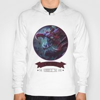 league of legends Hoodies featuring League Of Legends - Cho'gat by TheDrawingDuo