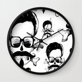 If Shakespeare'd b an Hypster Wall Clock