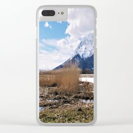 the big grimming Clear iPhone Case