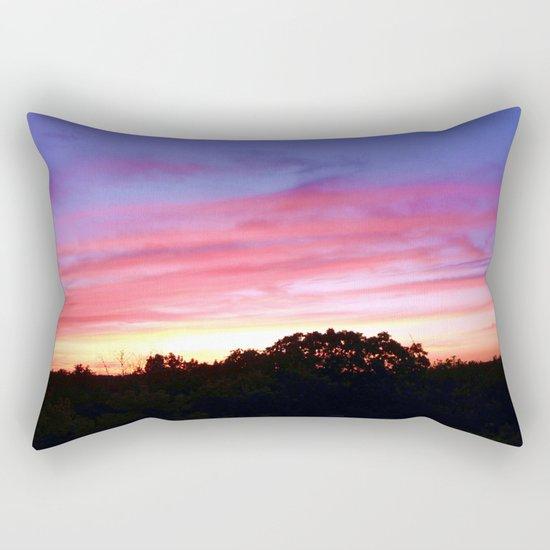 Wisconsin Sunset Rectangular Pillow