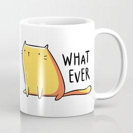 Whatever Cat Coffee Mug