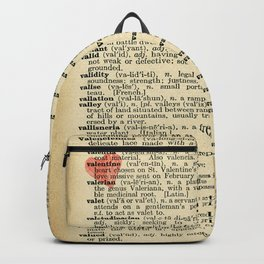 Valentine's Day (female version) Backpack