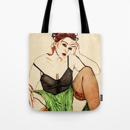 In the Style of...Egon Schiele Tote Bag