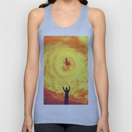 Through the Fire Unisex Tank Top